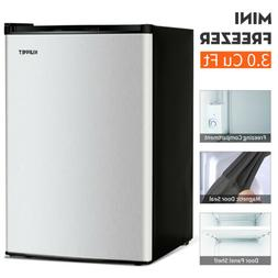 1.1/2.1/3CuFt Compact Mini Fridge Freezer Upright Small Refr
