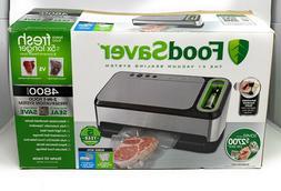 Foodsaver 2-in-1 Appliance Vacuum Sealer, FSFSSL4840-000