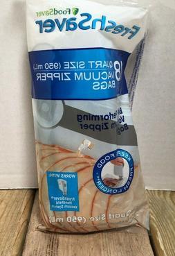 FoodSaver 1 Quart BPA-Free Multilayer Construction Vacuum Zi