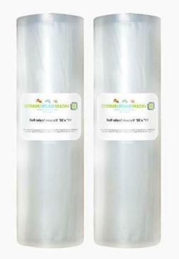 """Vacuum Sealers Unlimited 11""""x50' Rolls Vacuum Sealer Bags Fo"""