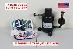 12V DC Mini Refrigeration Compressor Fridge Freezer Marine S