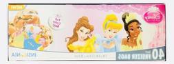 1x disney princess themed quart freezer bags