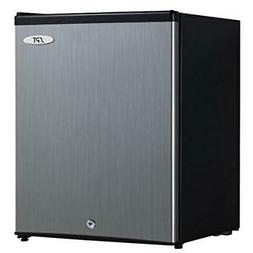 2.1 cu.ft. Upright Freezer with Energy Star - Stainless Stee