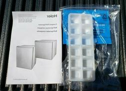 Haier  2.7 Cu-Ft. Compact Refrigerator - Manual and Ice Cube