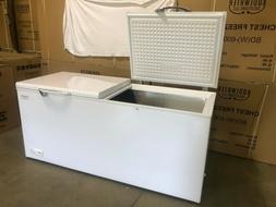 21.189 Cu Ft Chest Freezer 2 Door Cold Food Storage Locker D