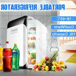 220V 12V 10L Portable Mini Fridge Freezer Cooler Refrigerato