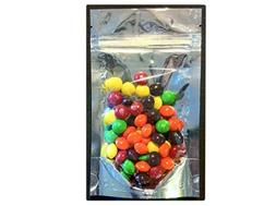 25 Pcs 5x8 Stand Up Zipper Pouches 4 Mil Freezer Bags  4 to