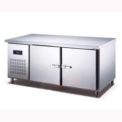 250L Kitchen Refrigerator Stainless Steel Under-Counter <fon