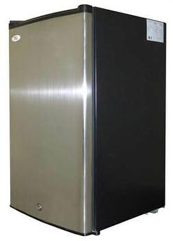 3.0 cu.ft. Upright Freezer with Energy Star - Stainless Stee