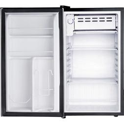 Igloo 3.2 cu. ft. Refrigerator and Freezer, Platinum