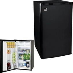 RCA 3.2 Cubic Foot Black Stainless Steel Mini Fridge RFR335