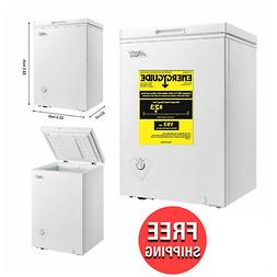 ARCTIC KING 3.5 Cu. Ft. Chest Freezer White Adjustable Therm