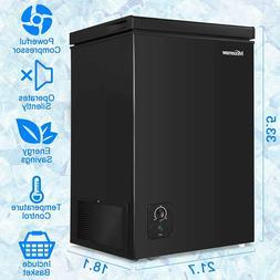 3.5 Cu Ft Compact Deep Chest Upright Freezer Storage Home Qu