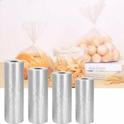350 Bags / Roll Plastic Produce Clear Bag on Roll Kitchen Br
