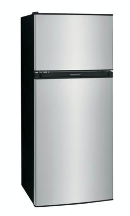 4.5 Cu Ft Mini Fridge Freezer 2 Door Stainless Steal Small C