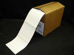 """4"""" x 4"""" Freezer Adhesive Thermal Printer Perforated Labels F"""