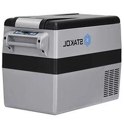 COSTWAY 44 Quart Portable Refrigerator/Freezer Compact Vehic