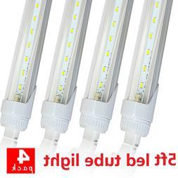 4Pack 24W F60T12 LED Tube Light 5FT Vending Cooler Freezer F
