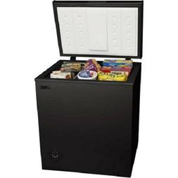 5 cu ft Chest Freezer Black estimated 218 kilowatts/year sto