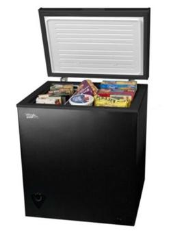 Arctic King 5 cu.ft. Chest Freezer Ice Chest 5CF - Black Fas
