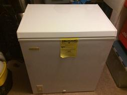HOLIDAY 5 CU FT CHEST FREEZER W BASKET LCM050LC NEW LOCAL PI