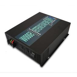 5000W Pure Sine Wave Inverter 12V DC to 110V/120V AC Power I