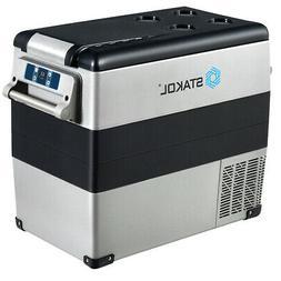 53 Quarts Portable Electric Car Cooler Refrigerator/Freezer