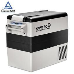 54 Quarts Portable Electric Car Cooler Refrigerator/Freezer
