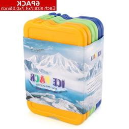 6 pcs Ice Packs Cool Reusable Freezer Pack Latest Colorful C