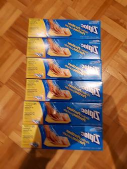 6x  75 Count Ziploc Perfect Portions Freezer Bag Food Meat C