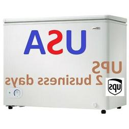 New Danby 7.2 cu. ft. Chest Freezer DCF072A4WP UPS 2-DAY AIR