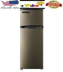 Thomson 7.5 cu ft Top Freezer Refrigerator Temperature Contr