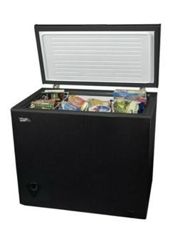 7 cu ft chest freezer black new