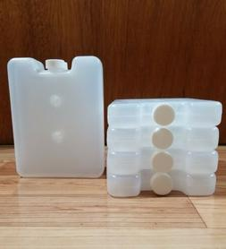 8 NEW REUSABLE ICE PACKS Freezer Bag Ice Blocks Lunch Box Co