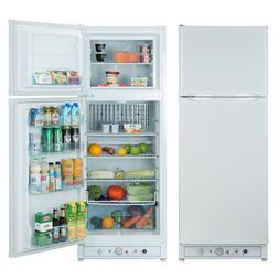 9.7 Cu Ft Propane Refrigerator LP Gas Fridge Freezer AC Camp