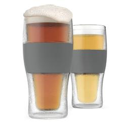 FREEZE  Cooling Pint Glasses  by HOST