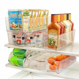 Greenco GRC0250 6 Piece Refrigerator and Freezer Stackable S