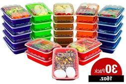 ISO Meal Prep Containers with Lids Certified BPA-Free Stacka