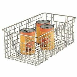 InterDesign Classico Kitchen Pantry Freezer Wire Basket Orga