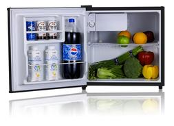 Midea WHS-65LB1 Compact Single Reversible Door Refrigerator,