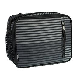 Packit - Freezable Classic Lunch Box - Gray Stripe