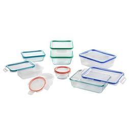 Snapware Glass & Plastic Storage Set, Multi-colored