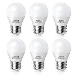 A15 Bulb LED 60Watts Equivalent, Ambimall G45 7Watt Applianc