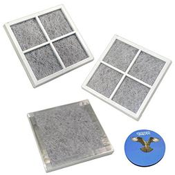 HQRP 3-pack Air Filters for Kenmore Elite Refrigerators 0460