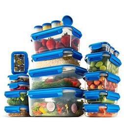 40-Piece Airtight Food Storage Containers Set With Lids - BP