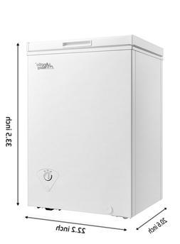 Arctic King Deep Chest Freezer 3.5 CU FT Upright Adjustable