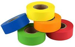 ChromaLabel Color-Code Labeling Tape Variety Pack | 5 Assort