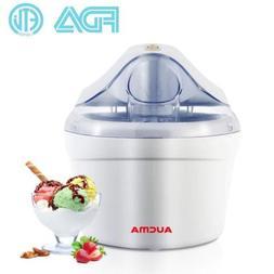 Aucma 1.5 Quart Automatic Ice Cream Maker Freezer Bowl Desse