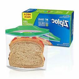 Ziploc Bags Storage Freezer Gallon Quart Slider Sandwich Bag
