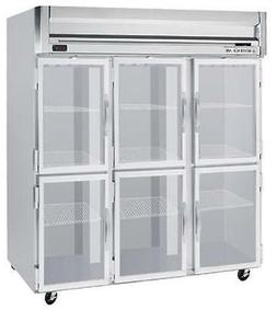 Beverage-Air HF3-5HG 74 CuFt Horizon Series Glass 6-Door Rea